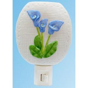 Blue Calla Lily Nightlight (4219)