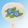 Blue Hibiscus Nightlight