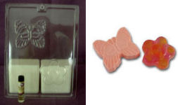 Make Your Own Soap Kit/Butterfly & Flower