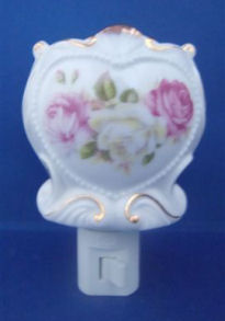 Pink & Gold Heart Nightlight