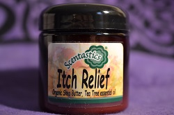 Itch Relief Organic Shea Butter