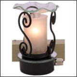 Iron & Glass Nightlight