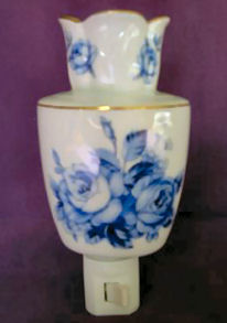 Blue Wedgwood with Gold Trim
